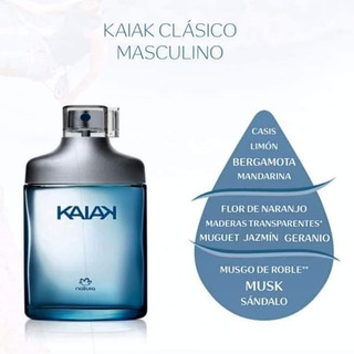 Perfume Kaiak Clásico Masculino - Natura Cosméticos