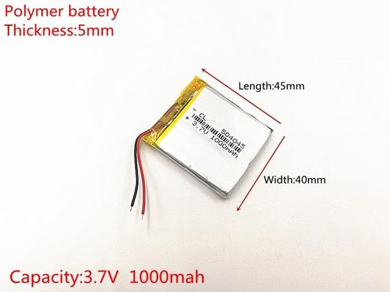 Bateria Gps Apontador T500 5mm X 40mm X 45mm 1000mah