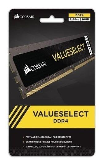 Memoria Ddr4 Corsair 16gb 2666mhz Value (1x16g) Envios 2666