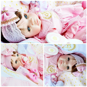 Bebe Reborn Menina Barata Promoçao Princesa Boneca Poa