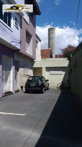 Sobrado A Venda No Bairro Bom Retiro Em São Paulo - Sp.  - S22-1
