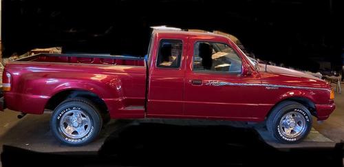 Ford Ranger Splash 1995 V6 3.0i - Vermelho (cereja) - Leia
