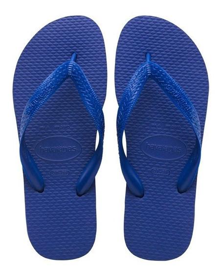 Ojotas Havaianas Color Originales Azul Talle 35 Al 40 Unisex