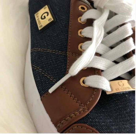 Zapatillas Guess Originales. Jean - Cuero. 2020