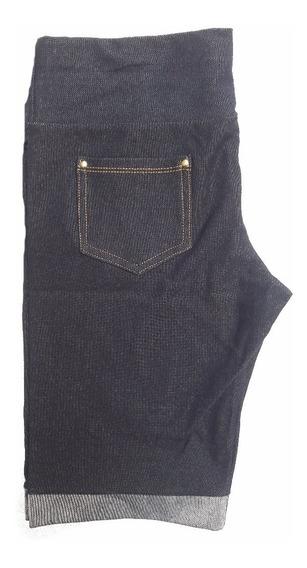 Kit Com 5 Short Cintura Alta Várias Cores P M G Gg Xg
