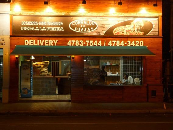 Fondo de comercio pizzeria zona norte