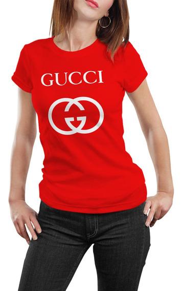 Playera Gucci Serigrafia Textil