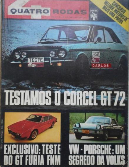 Revista Quatro Rodas 136 Novembro 1971 Dodge Corcel Gt Furia