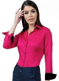 Kit 3 Camisas Camisete Social Feminina 2019 Frete Grátis