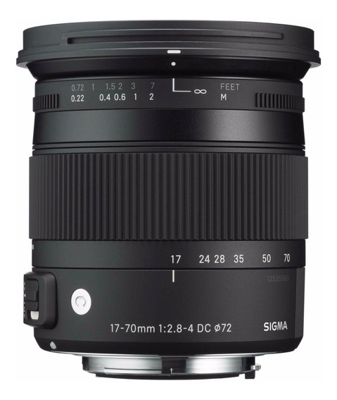 Sigma 17-70mm Contemporary F2.8-4 Dc Os Hsm Macro P/ Nikon