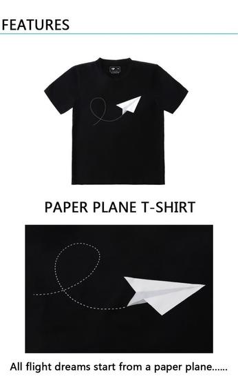 3 Unidades Camiseta 100% Original Dji Drone Preta Tamanho M