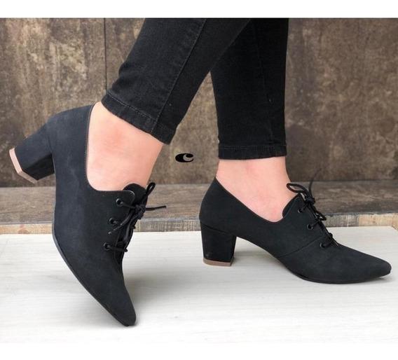 Zapatos Mujer, Tacon Cordón, Zapatillas, Moda,