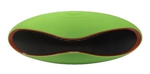 Mini Caixa De Som 3w Rms Com Bluetooth X-6 - Cor Verde