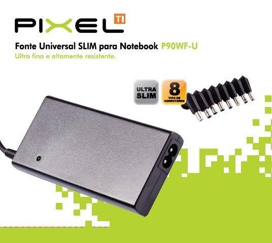 Fonte Carregador Universal Notebook Acer