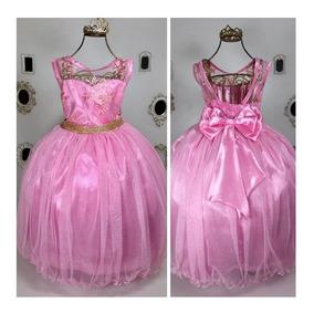 Enjoei Brinquedos Vestidos Festa Rosa Com O Melhores