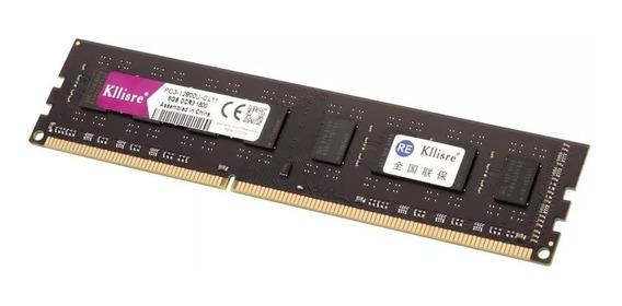 Memória Ram Ddr3 8gb 1600mhz Intel E Amd (kllisre) Promoção