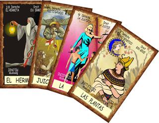 Tarot Egipcio Edicion De 80 Cartas Plastificadas
