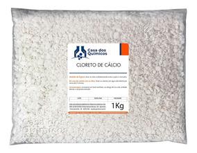 Cloreto De Cálcio Escamas - 25 Embalagens De 1kg