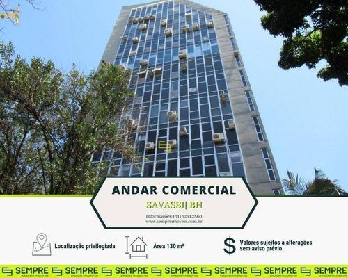 Imagem 1 de 21 de Andar Corporativo À Venda, 130 M² - Savassi - Belo Horizonte/mg - Ac0034