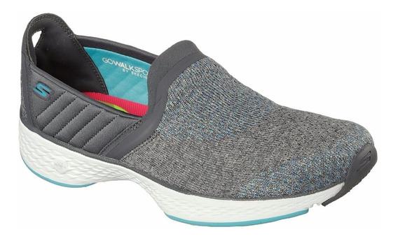 Zapatillas Skechers Go Walk Sport Supreme Caminata Goga+ Muj