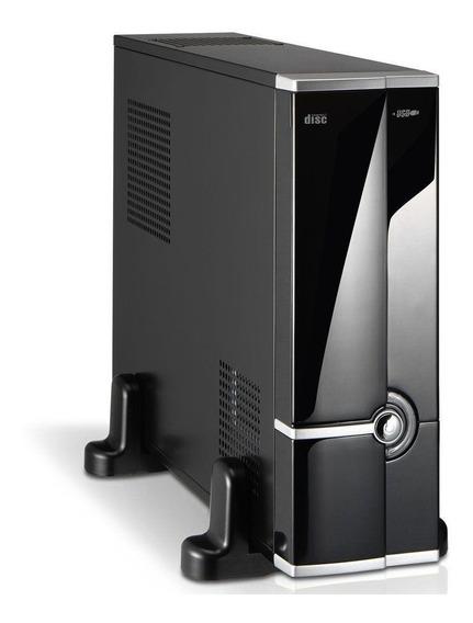 Mini Pc Desktop Intel Core I3 4gb Ddr3 Hd 500gb +dvd + Wi Fi
