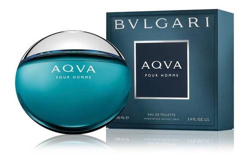 Imagen 1 de 1 de Aqvua Bvlgari Edt 100ml / Prestige Parfums