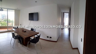 Apartamento Amoblado En Renta - El Poblado Castropol Cod: 11