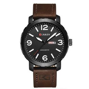 Relógio Masculino Curren 8273 Preto E Branco C Garantia E Nf