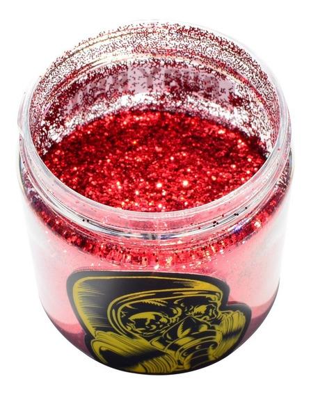 Tinta Metal Flake Vermelho Para Pintura Automotiva 100 Grms