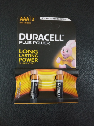 Pilas Aaa Alcalina 1.5v Duracell Original Oferta
