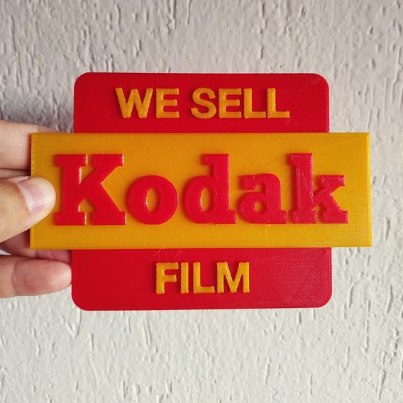 Plaquinha Decorativa Kodak