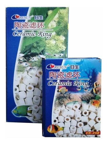 Imagen 1 de 9 de Canutillos Ceramica Acuario Anillos Material Filtro 250 Gr