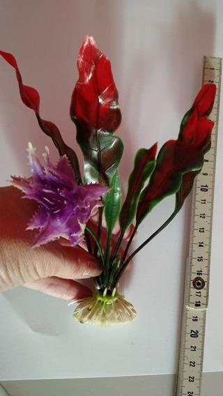 Plantas Artificiais Aquários Artificial Colorida Durável