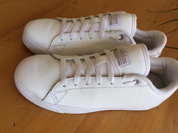 Tênis adidas Cloudfoam Branco Feminino 35