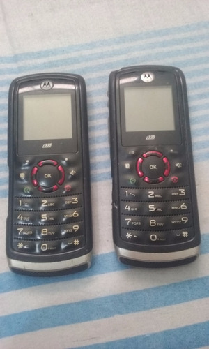 Imagem 1 de 7 de Lote Com 2 Celular Nextel I335 Bluetooth Ptt Rádio C4-28