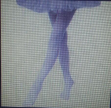 Medias Panty Blancas Gruesas Completas