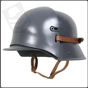 Capacete Alemão Com Placa Sniper Aço Mod: M1916