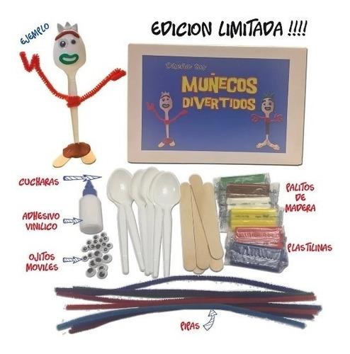 Imagen 1 de 3 de  Muñecos Divertidos - Crea Los Mejores Con Tu Imaginacion