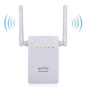 Repetidor Amplificador Señal Wifi 300 Mbps Rompemuros Antena