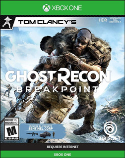 Videojuego Ghost Recon Breakpoint Limite Editiion Xbox One