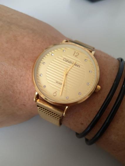 Relógio Ck Minimalista