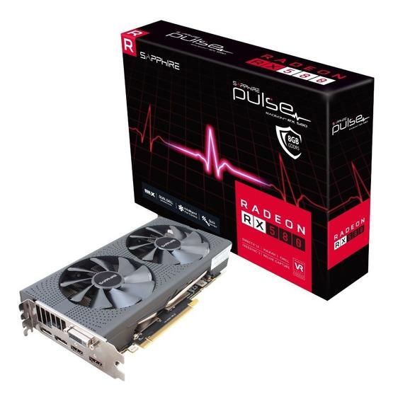 Placa De Video Amd Radeon Rx 580 8gb Sapphire Pulse Pc
