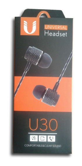 Fone De Ouvido Headset Universal U30