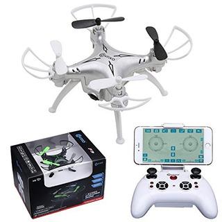 Contixo F3 Rc Quadcopter Drone, Plata