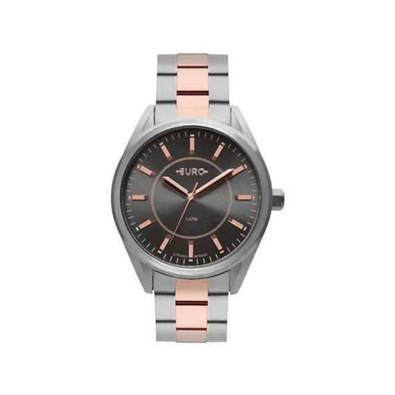 Relógio Euro Feminino Strong Spikes Bicolor Eu2035yqb/5c