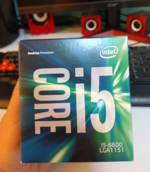 Processador Core I5 6600 Skylake Cache De 6m, Até 3,90 Ghz