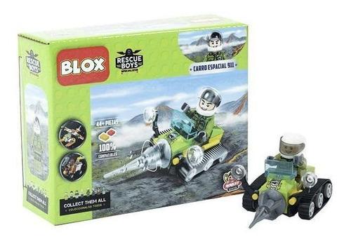 Blox Bloques De Armar Carro Del Espacio 44 Piezas Blox