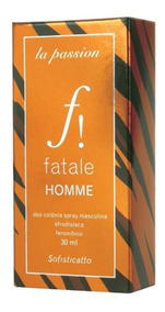 Deo Colonia Afrodisiaco Fatalle Homme 30ml