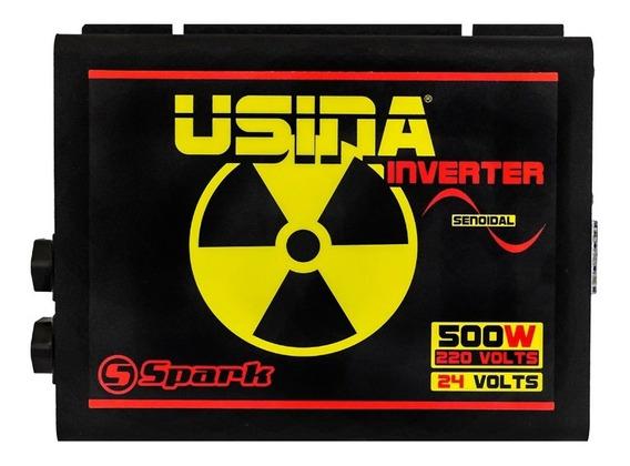 Inversor De Tensão Senoidal Usina Inverter 500w 24v 220v