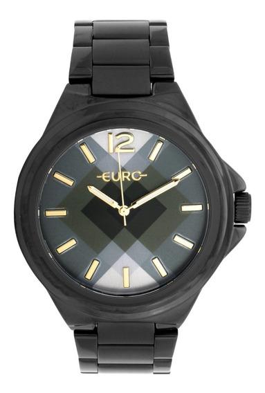 50% Off Relógio Facetado Euro Original Eu2035ydp-4p Na Caixa Lacrado